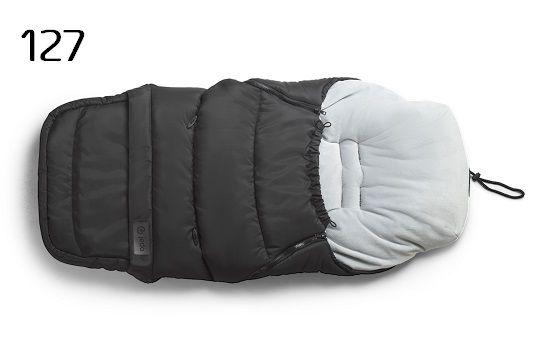 Jedo Wintersack mit Fleece - schwarz