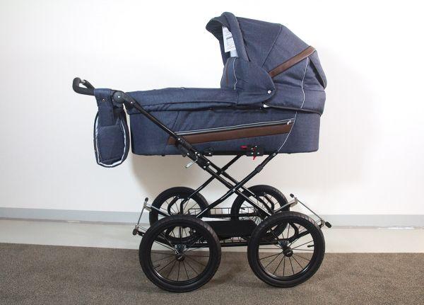 Trille Dream Kinderwagen - Blau Denim - inkl. Innentragetasche & Wickeltasche