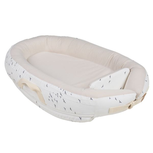 Voksi Premium Baby Nest - White Flying