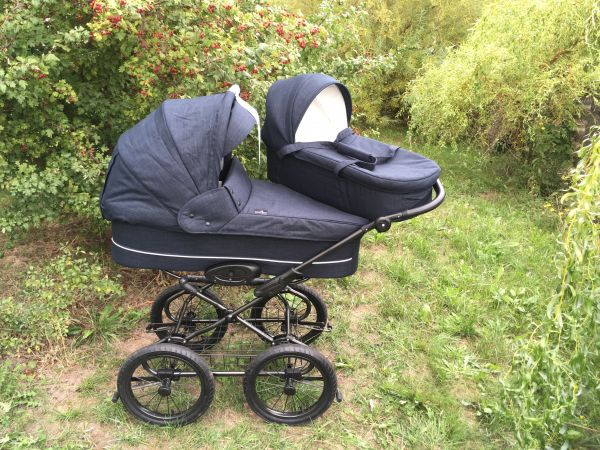 Basson Baby Grande Soft Kinderwagen - Dusty Navy