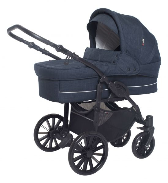 Basson Baby Nordic Lux 85 Kinderwagen - Dusty Navy