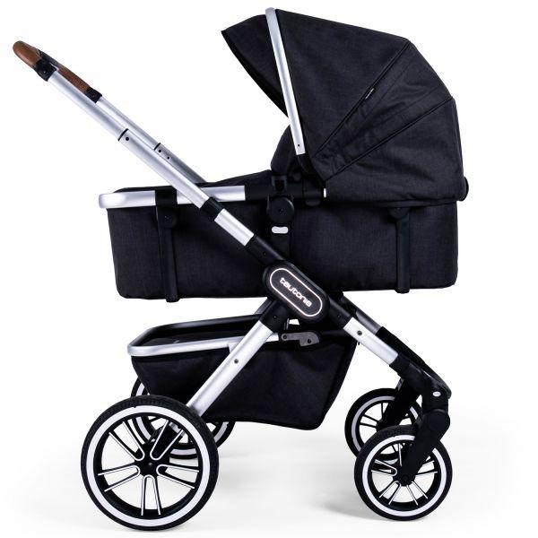 Teutonia TRIO Kinderwagen - Melange Black