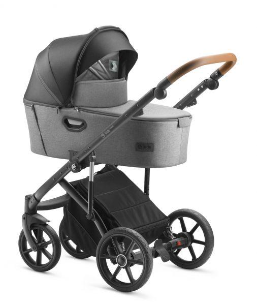 Jedo Tamel Kinderwagen 2019 - E11 - inkl. Sportwagen & Wickeltasche