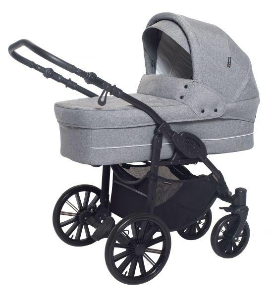 Basson Baby Nordic Lux Kinderwagen - Grau / Melange