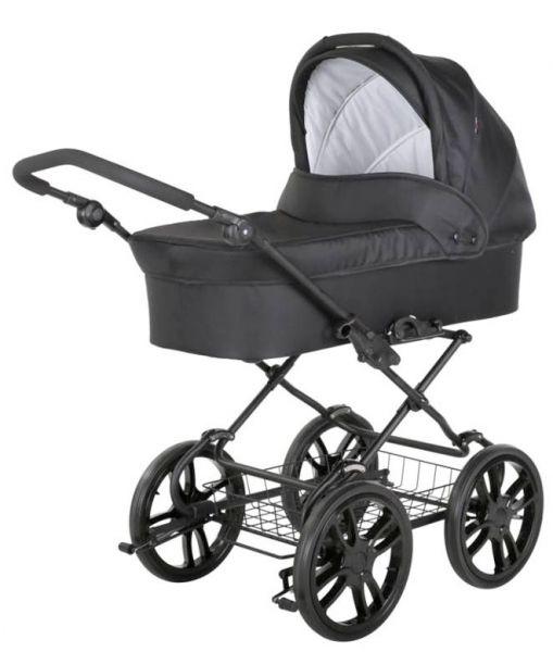 Basson Baby Grande Black Kinderwagen