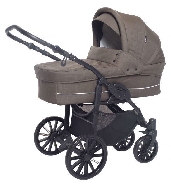 Basson Baby Nordic Lux 85 Kinderwagen - Dusty Olive
