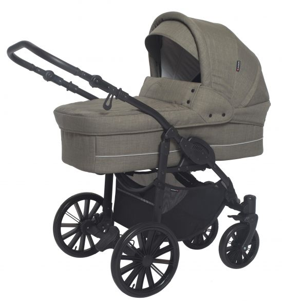 Basson Baby Nordic Lux Kinderwagen - Dusty Green