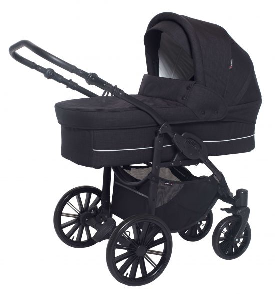 Basson Baby Nordic Lux Kinderwagen - Dusty Black