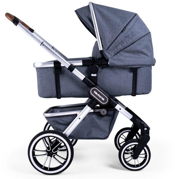 Teutonia TRIO Kinderwagen - Melange Grey