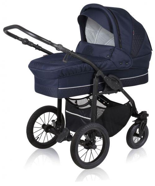 Basson Baby Nordic Lux Kinderwagen - Marineblau