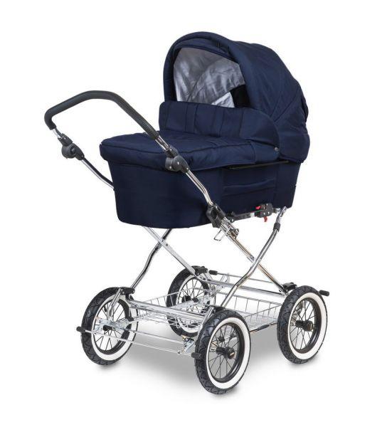 Trille Hippa Kinderwagen - Marineblau - inkl. Innentragetasche & Wickeltasche