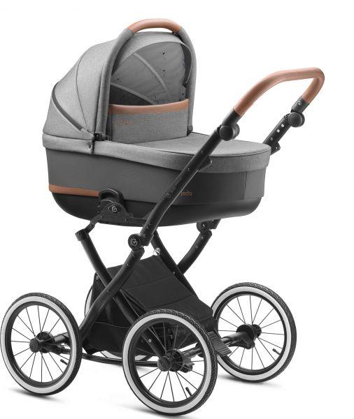 Jedo Bartatina ALU Kinderwagen 2020 - V25 - inkl. Sportwagen & Wickeltasche