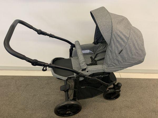 Sportwagenaufsatz Grau / Melange für Basson Baby Nordic Lux