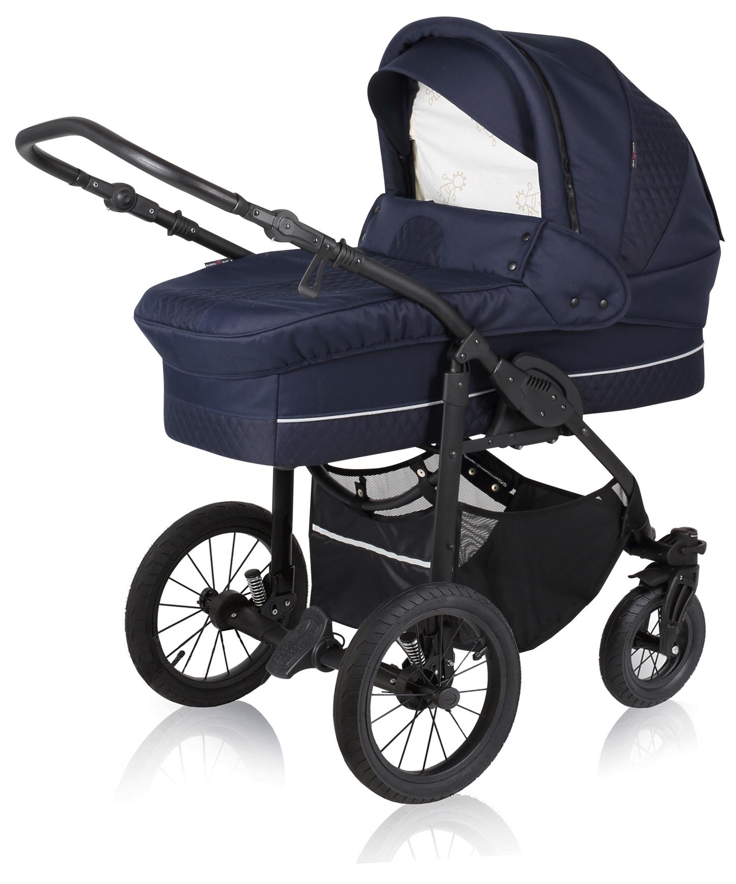 basson baby nordic lux kinderwagen marineblau nordic lux basson baby kinderwagen. Black Bedroom Furniture Sets. Home Design Ideas